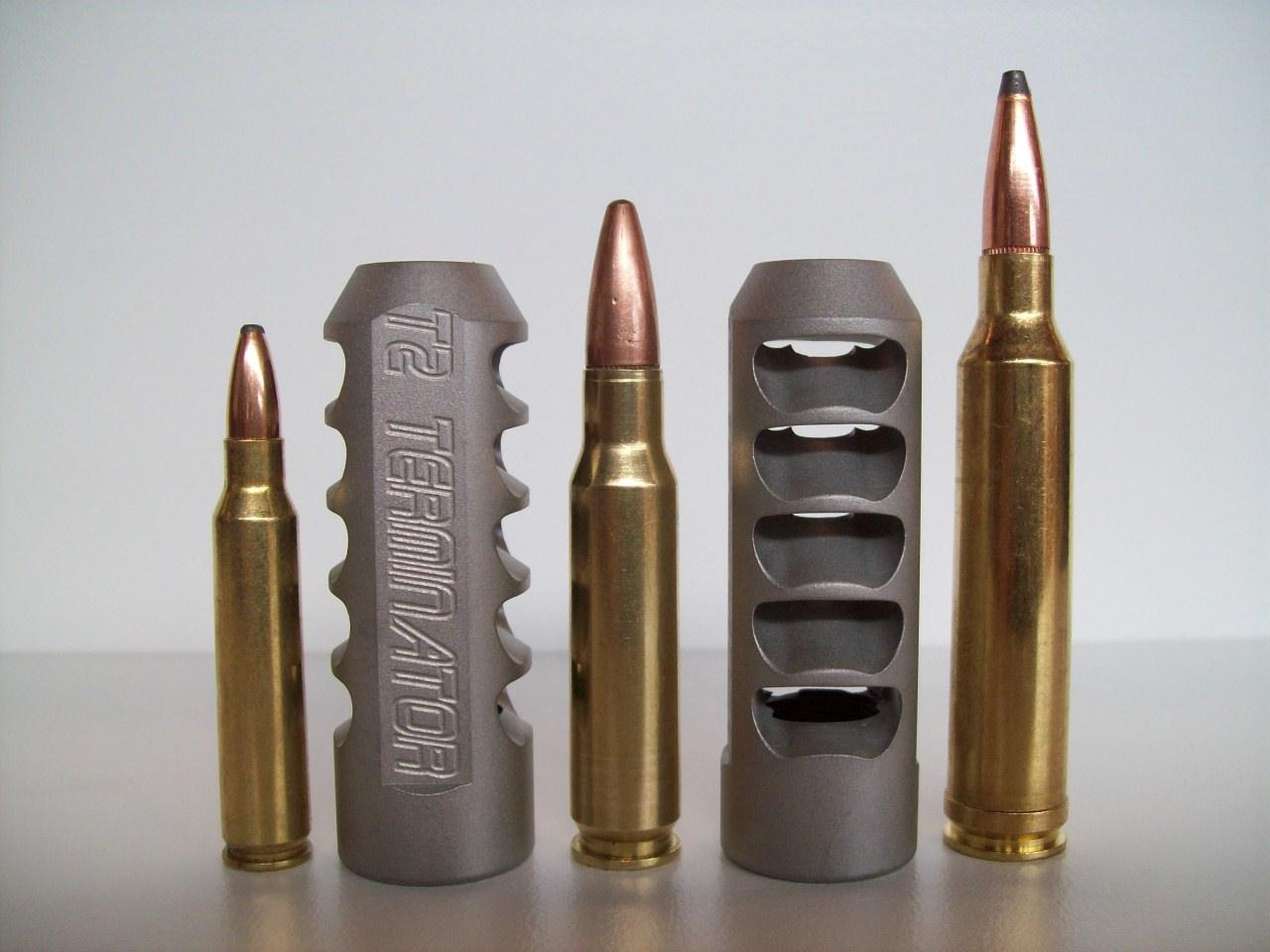 Terminator Muzzle Brakes T1 T2 T3 T4 T5 T6 TT T3B TA TE